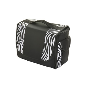 Crewe Orlando Black and Zebra Holdall Kit Bag