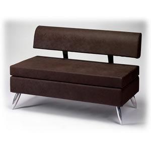 Direct Salon Supplies Milano 2 Seater Waiting Seat