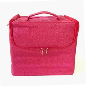 Redspot Pink Bubble Beauty Case