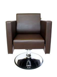 Direct Salon Supplies Boxta Hydraulic Styling Chair In Brown