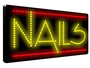 Direct Salon Supplies LED Nails Sign