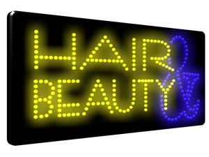 Direct Salon Supplies LED Hair & Beauty Sign