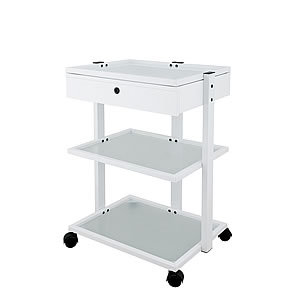 Direct Salon Supplies Three Tier Trolley With Wooden Drawer