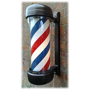 Direct Salon Supplies Premium Revolving Barbers Pole