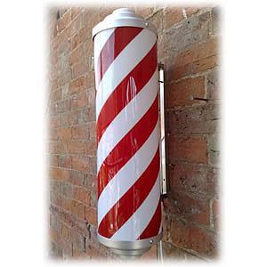 Direct Salon Supplies Static Non-Illuminated Barbers Pole