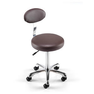 REM Beauty Stool With Back Rest