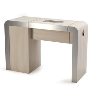 REM Concorde 1 Position Nail Station With Storage
