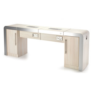REM Concorde 2 Position Nail Station With Storage
