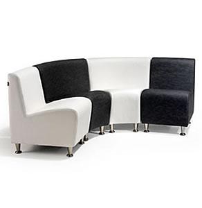 REM Elegance 4 Seater Waiting Corner Seating Set