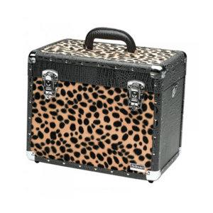 Croco Black Leopard Case