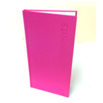 Direct Salon Supplies 3 Column Pink Appointment Book
