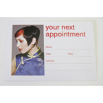 Direct Salon Supplies Dark Hair Appointment Cards