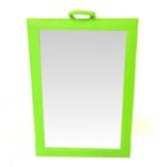 Diredt Salon Supplies Chic Salon Back Mirror in Lime
