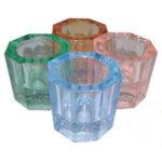 Mundo Glass Dappen Dishes Set of 4