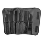 Combank Black 6 Piece Carbon Comb Set