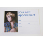 Direct Salon Supplies Blonde Appointment Cards