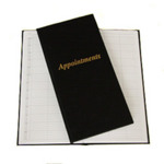 Direct Salon Supplies 3 Column Black Appointment Book