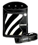 NEW Haito Zebra Print Scissor/Comb Holster