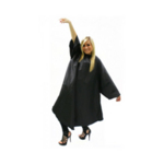 Hair Tools Sleeved Black Gown