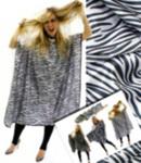Hair Tools Zebra Print Gown