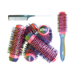 KODO Lock And Roll Brush And Comb Set Red