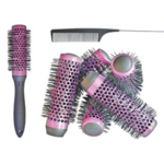 KODO Lock And Roll Brush And Comb Set Purple
