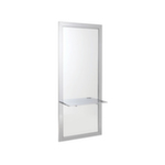 REM Vision Styling Mirror With Cast Metal Shelf