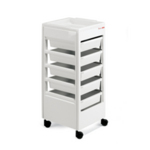 REM White Studio Beauty Trolley