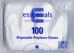 Disposable Polythene Gloves Pack 100