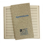 Direct Salon Supplies 3 Column Grey Appointment Book