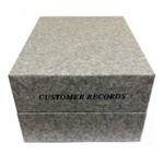Direct Salon Supplies Large Customer Record Box