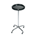 Direct Salon Supplies Escort Black Round Service Trolley