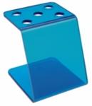 Direct Salon Supplies Blue Plastic Scissor Holder