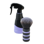 Direct Salon Supplies Soft Touch Purple Water Spray & Neck Brush