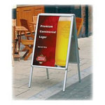 Direct Salon Supplies Pavement Poster Display