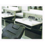Takara Belmont Barbers Salon Console Foldaway Basin Units