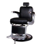 Takara Belmont Apollo 2 Black Barbers Chair (225/RH)