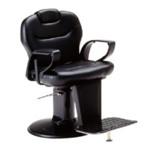Takara Belmont Crea 2U Black Barbers Chair (CREAU2/85B)