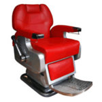 Direct Salon Supplies Utopia Barbers Chair in Red