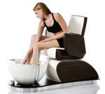 Vismara Long Island Chromo Relax Spa Chair