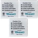 Tondeo Comfort Cut Blades Pack 10