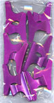 Metallix Large Plastic Pink Jaws Pack 12