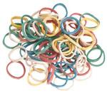 Direct Salon Supplies Multi Coloured Elastic Bands Box of 500