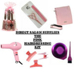 Direct Salon Supplies Pink Student Hairdressing Kit