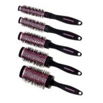 Denman Squargonomic Pink Brush Set