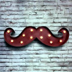 Barbers Wall Decorative Moustache