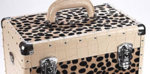 Direct Salon Supplies Leopard Effect Beauty Case