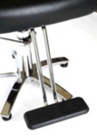 Direct Salon Supplies Palermo Hydraulic Styling Chair With Chrome Arms